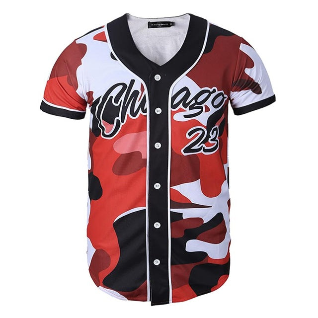 Chicago Camo Jersey