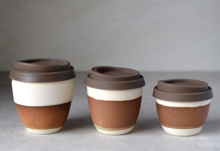 Reusable Takeaway Cup 8oz - Rust