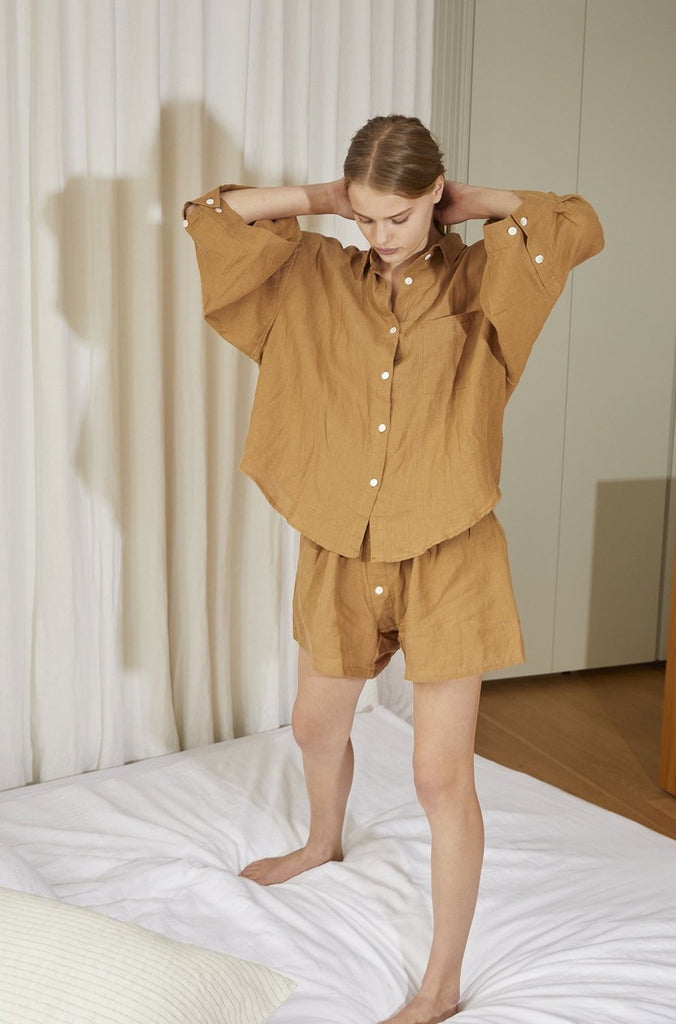 The 03 Loungewear Set - Walnut