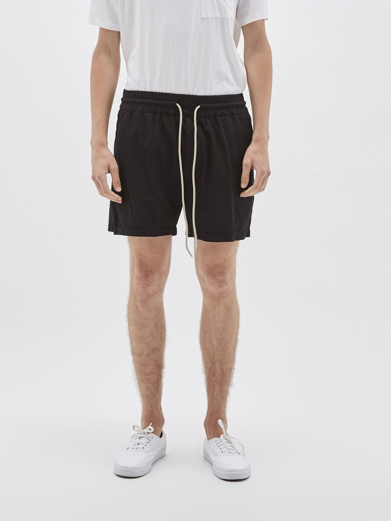 Twill Classic Beach Short - Black