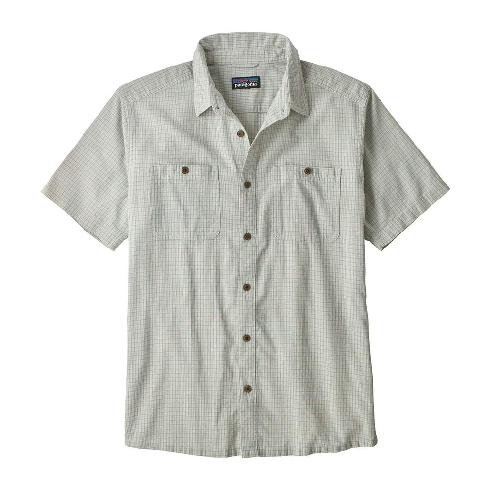 M's Back Step Shirt - Owens Atoll Blue