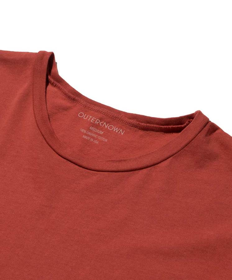 Ghost Logo Tee - Faded Red