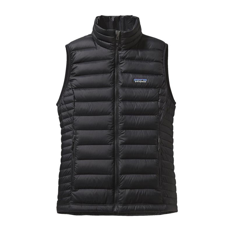 W's Down Sweater Vest - Black