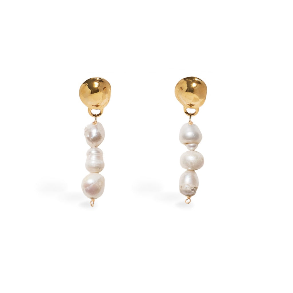 Mini Bud Earrings - Gold
