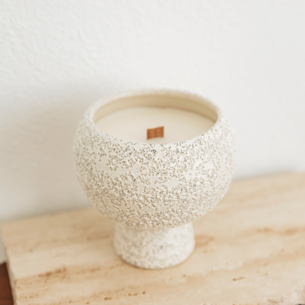 LEATHER & AMBER - MINI BOBBY CANDLE