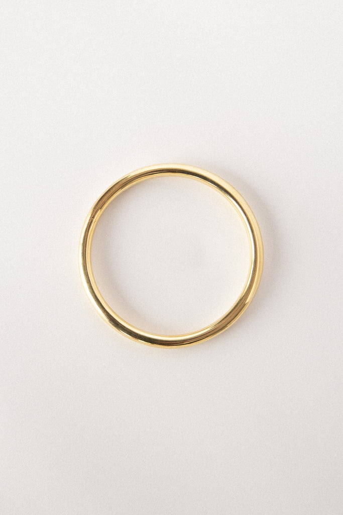 Goldie Bangle - 18k Gold Plated Brass