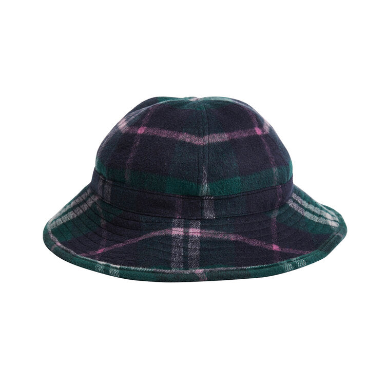 Daisy Mae Bucket Hat - Forest Plaid