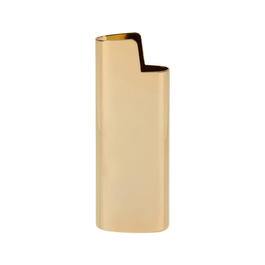 Brass Lighter Holder - Gold