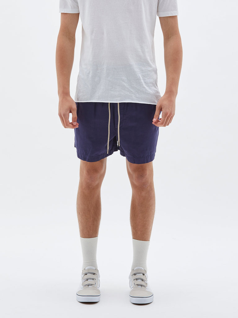 Twill Classic Beach Short - New Navy