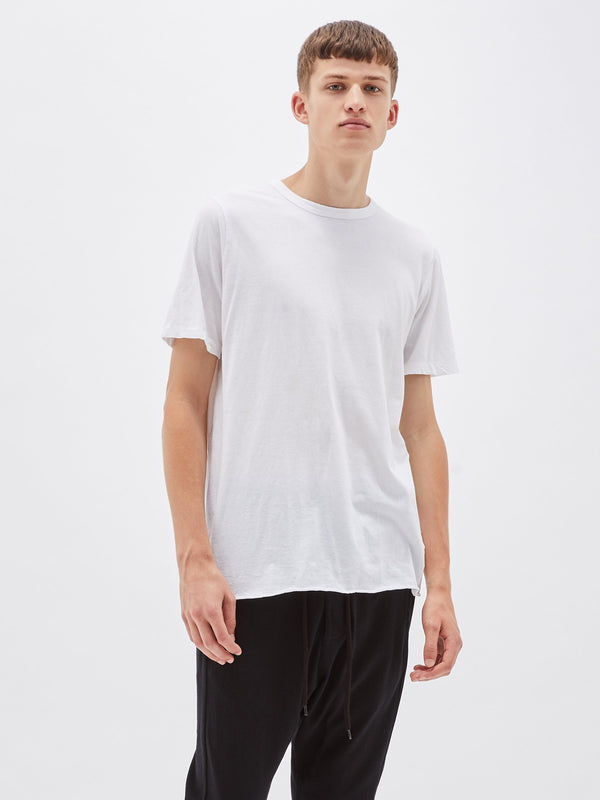 Classic Heritage Neck T-Shirt - White