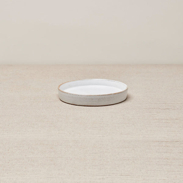 PUTU BREAD & BUTTER PLATE - Brushed White