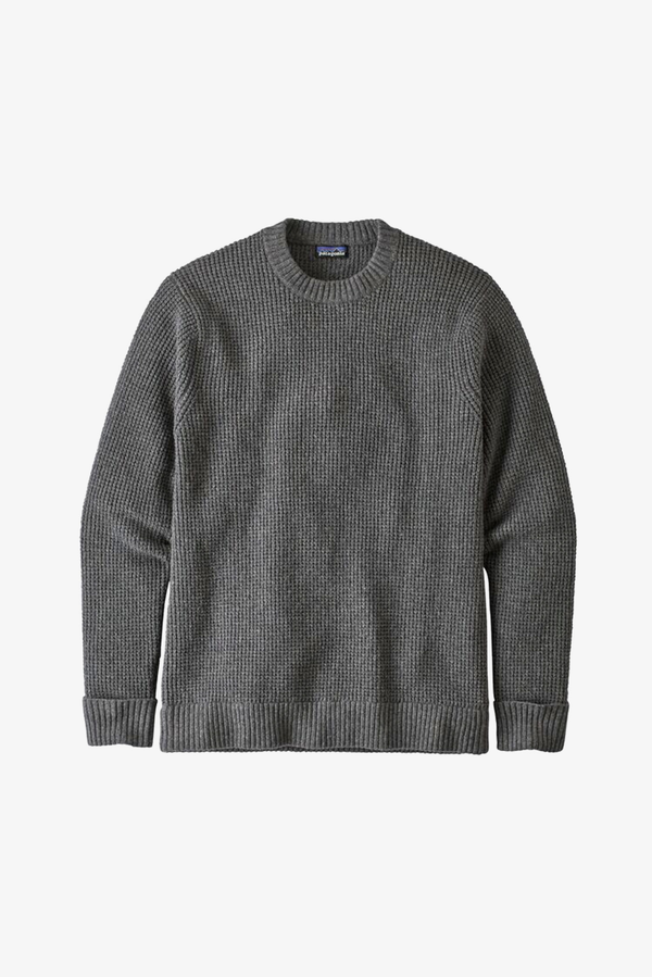 M's Recycled Wool Sweater - Hex Grey