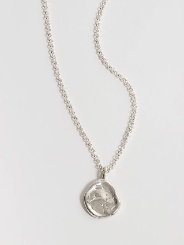 Woman Necklace - Silver