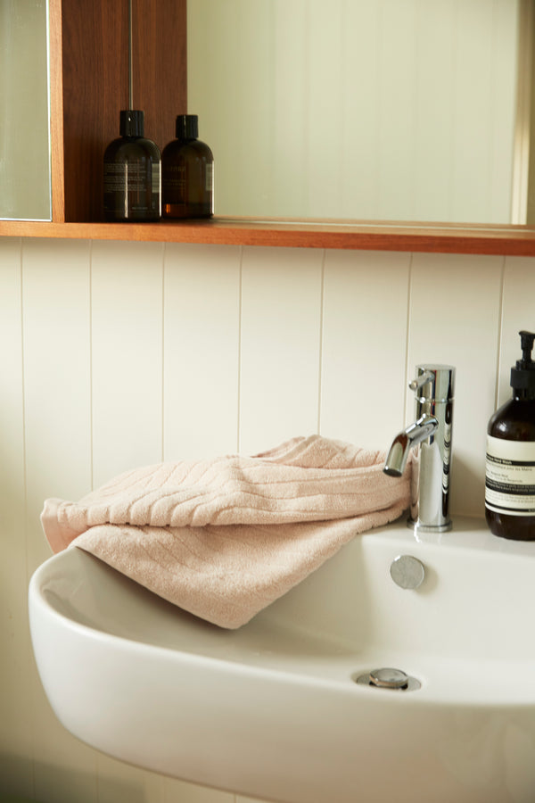 Clovelly Hand Towel - Clay