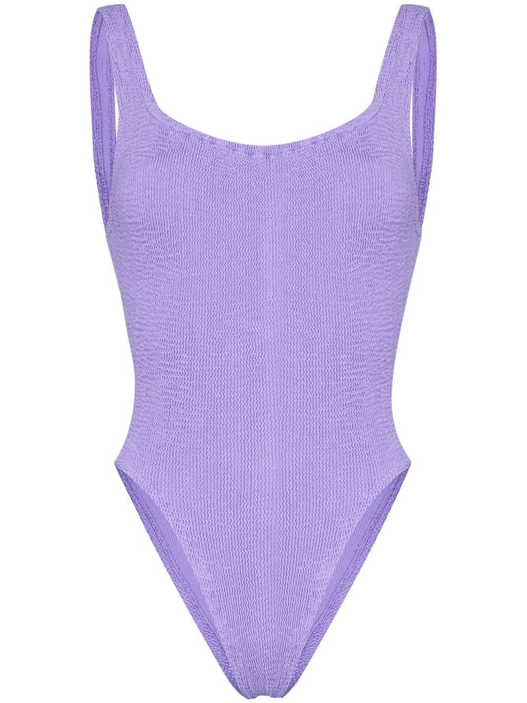 Classic Square Neck Swim - Lilac