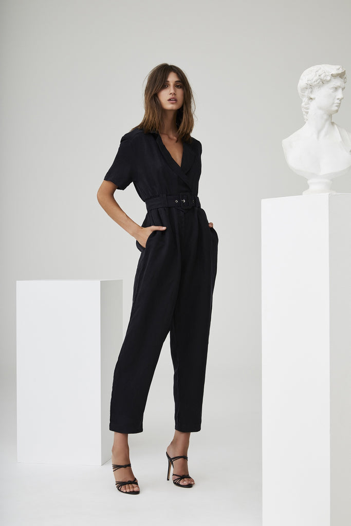 Emmanuel Jumpsuit - Black