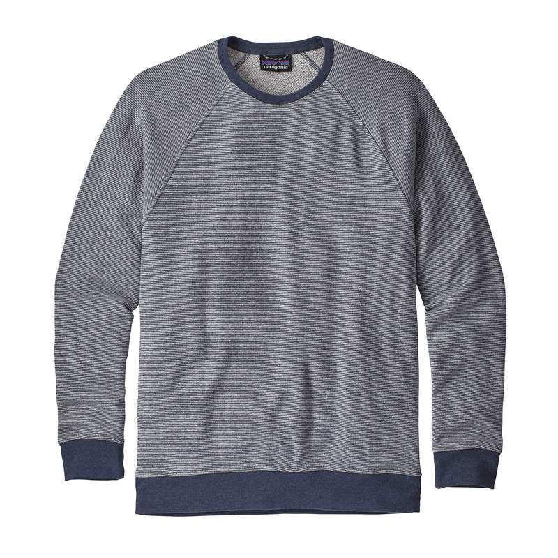 M's Trail Harbor Crewneck Sweatshirt - Long Plains Dolomite Blue