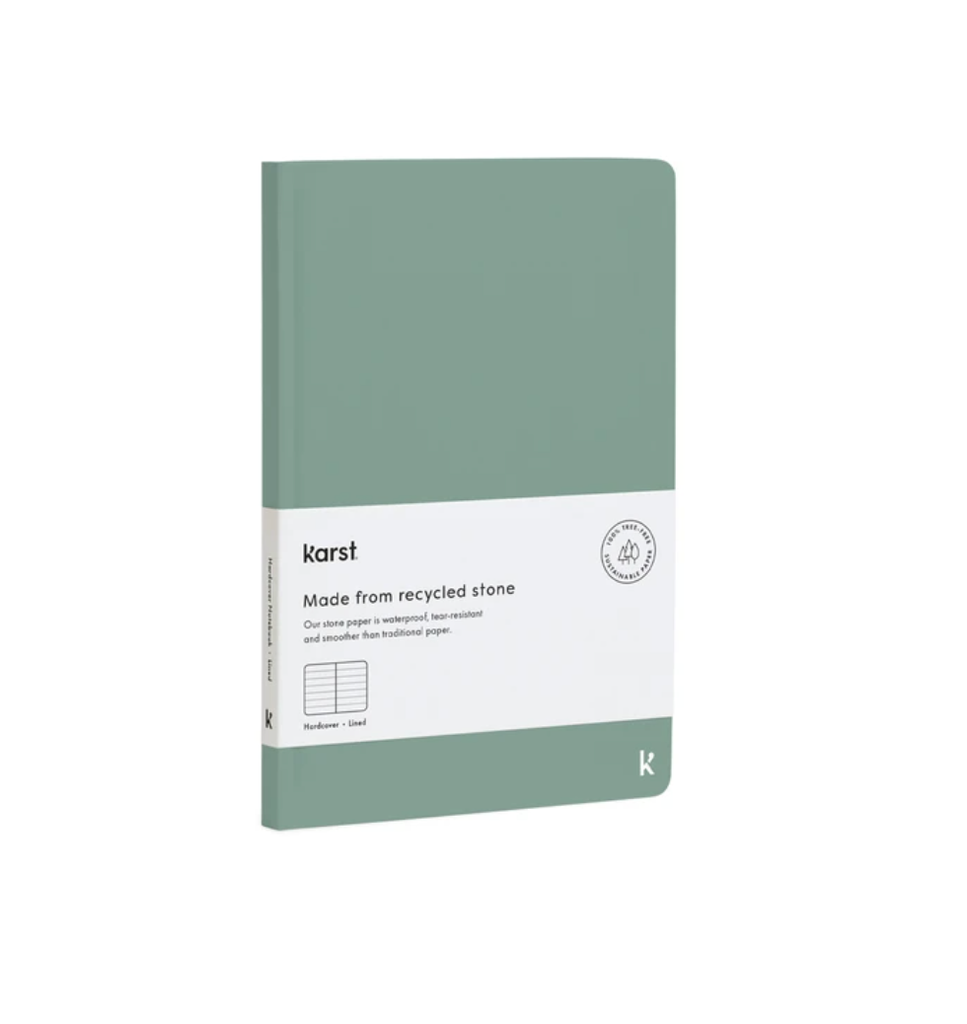 Hard Cover A5 Notebook - Eucalypt