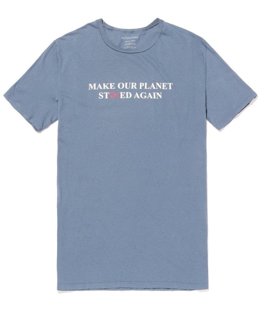 Planet Stoked Tee - Water