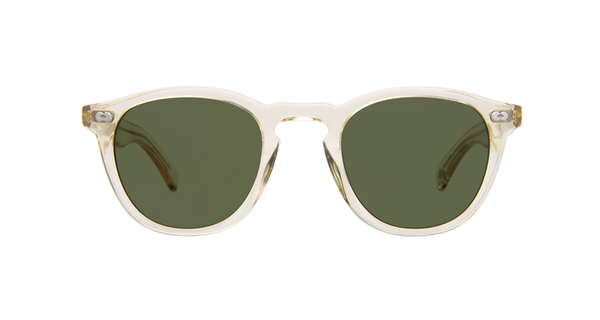 Hampton X 46 Sunglasses - Pure Glass/ Pure Green