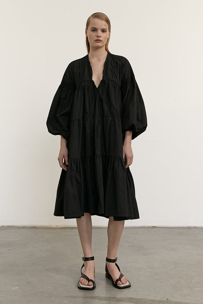 The Severine Dress - Black