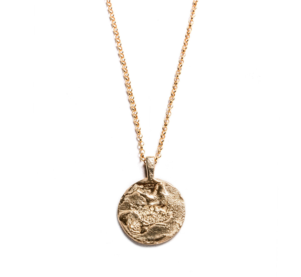 Molten Necklace - Gold