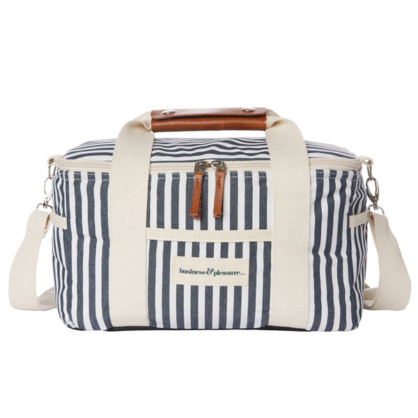 Premium Cooler Bag - Laurens Navy Stripe