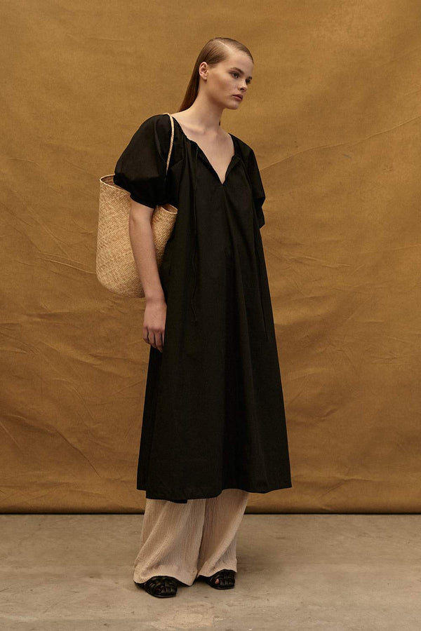 The Eulalie Dress - Black