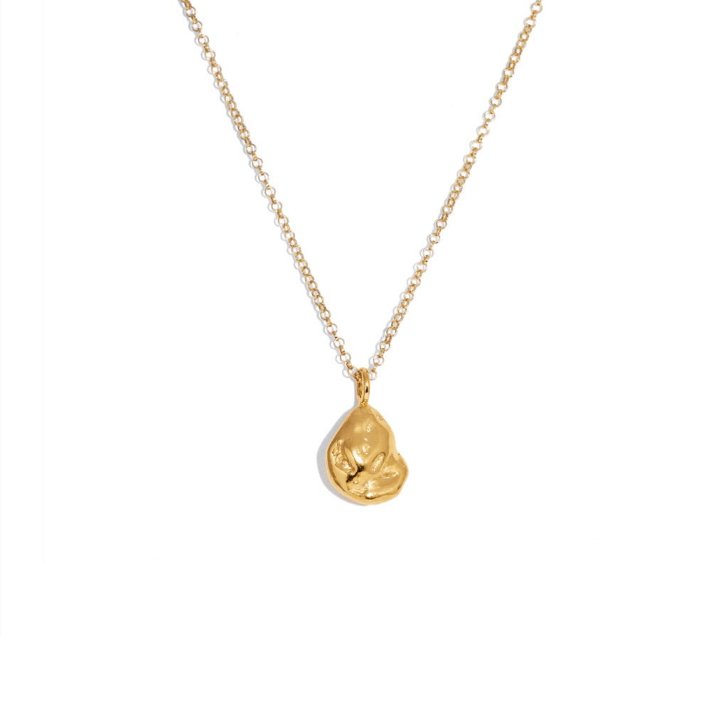 Seed Necklace- Gold