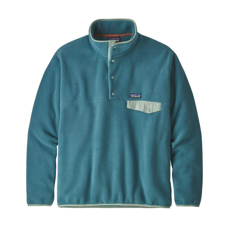 M's LW Synch Snap-T Pullover Fleece - Tasmanian Teal
