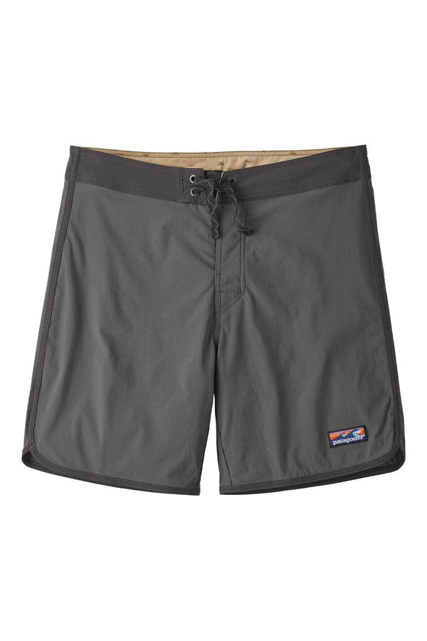 M's Scallop Hem Stretch Wavefarer Boardshorts 18in Boardshorts - Forge Grey