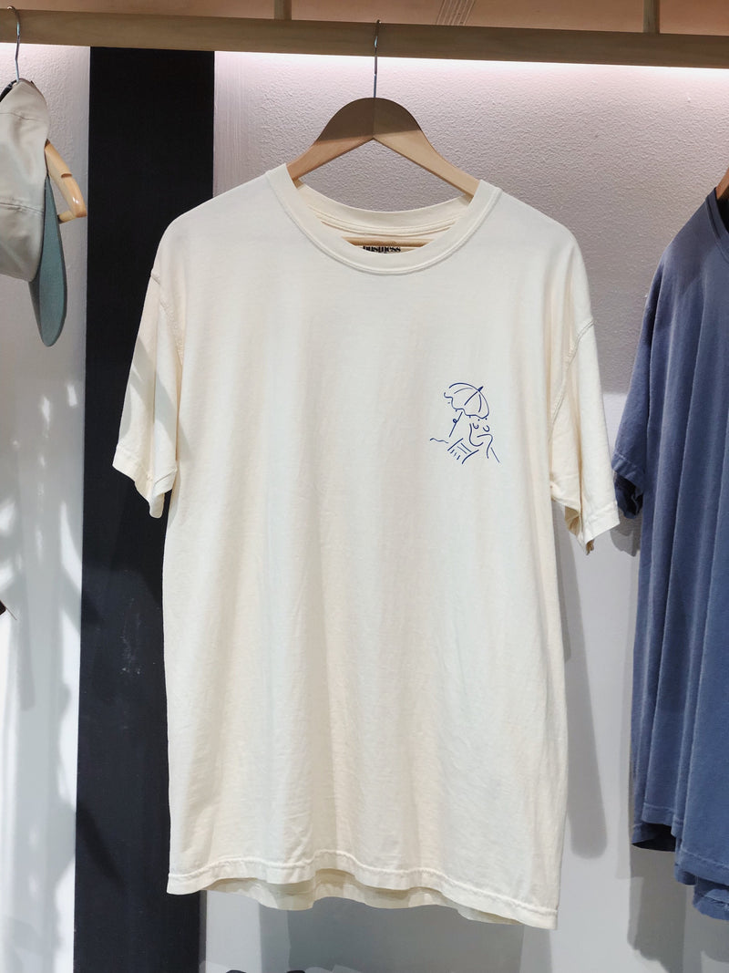 Basque Tee - French White