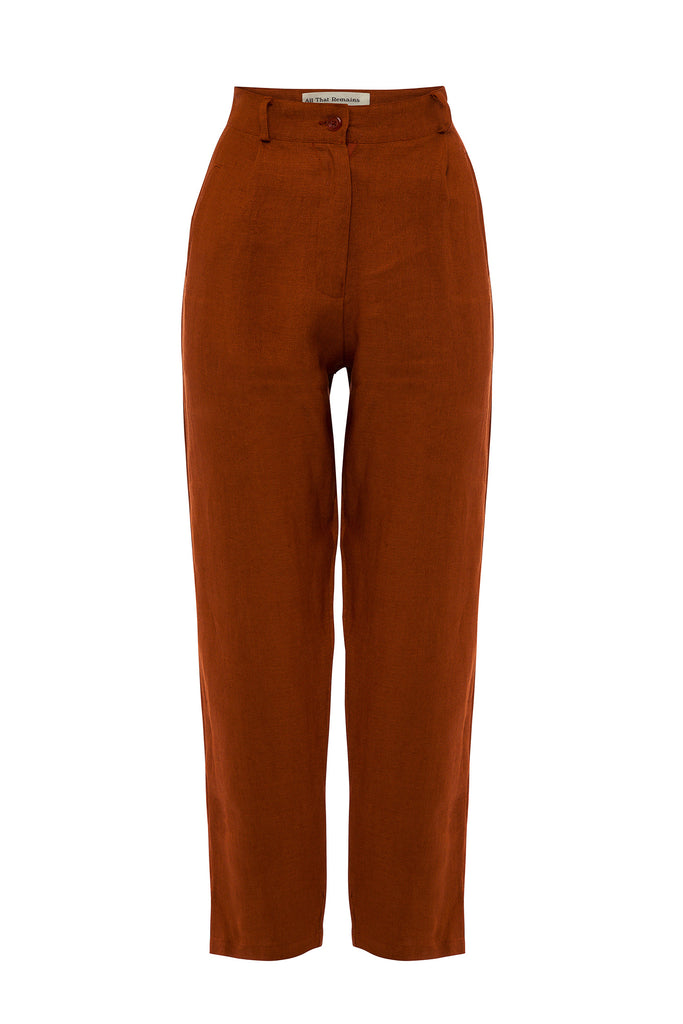 Isabel Pants - Ochre