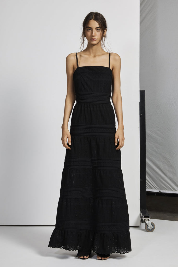 Celié Maxi Dress - Noir