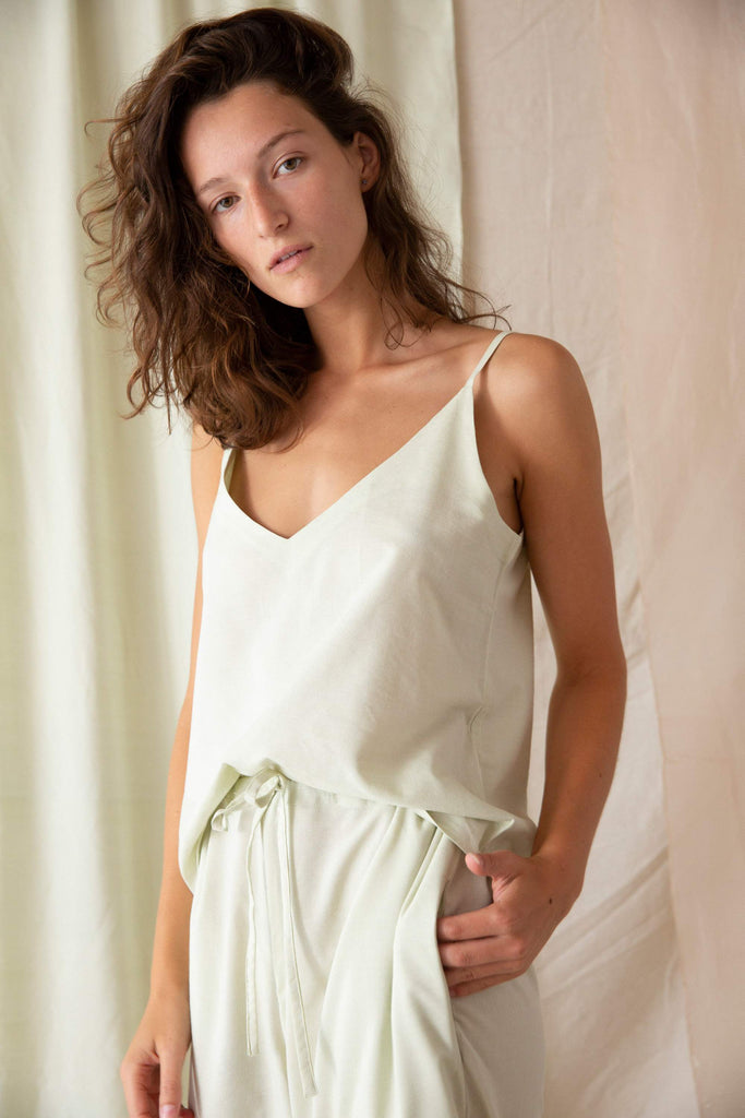 Paloma Set - Celery Silk