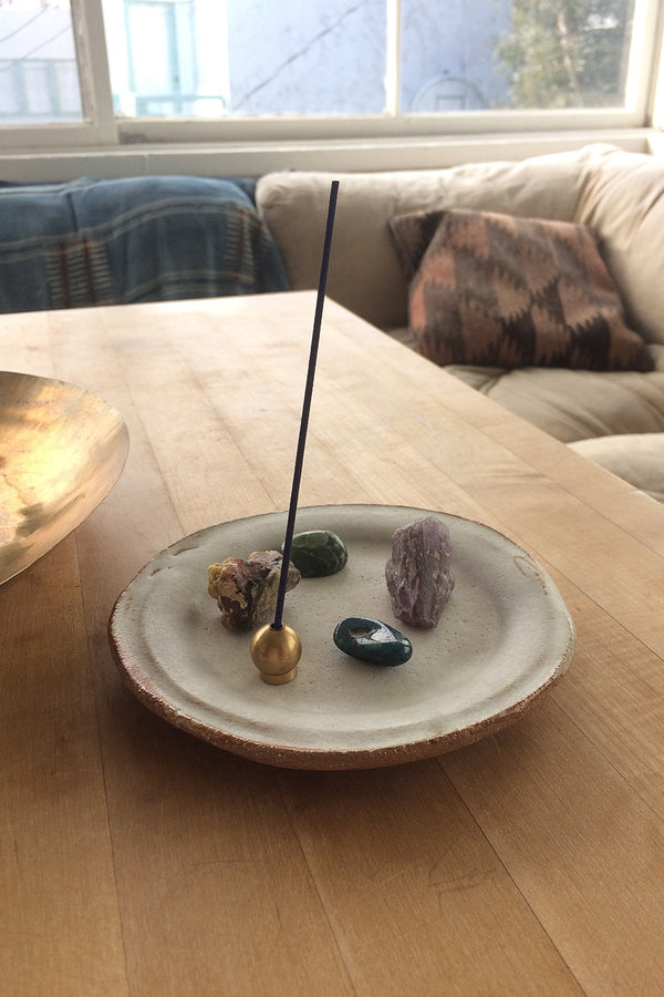 Ritual Incense Holder - Brass