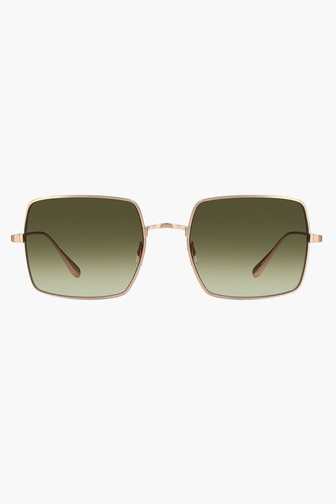 Crescent 52 Sunglasses- Matte Gold/ Semi- Flat Olive Gradient