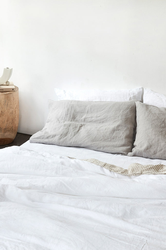 Pillow Slip Set - Fog Grey