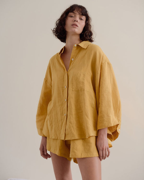 The 03 Loungewear Set - Mustard