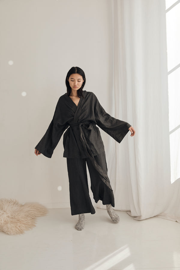 The 01 Loungewear Set - Black