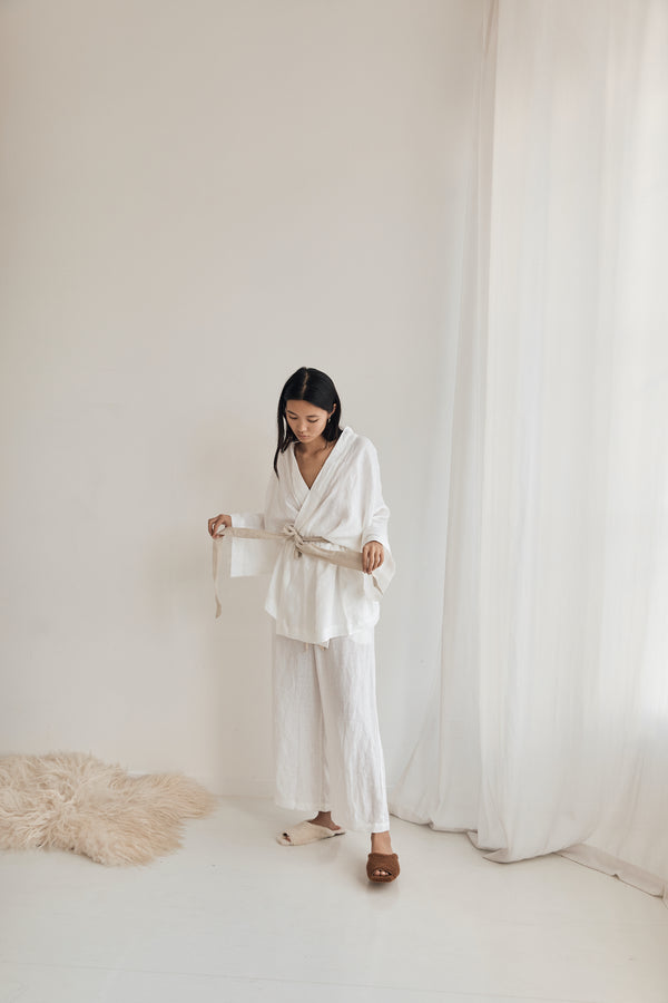 The 01 Loungewear Set - White