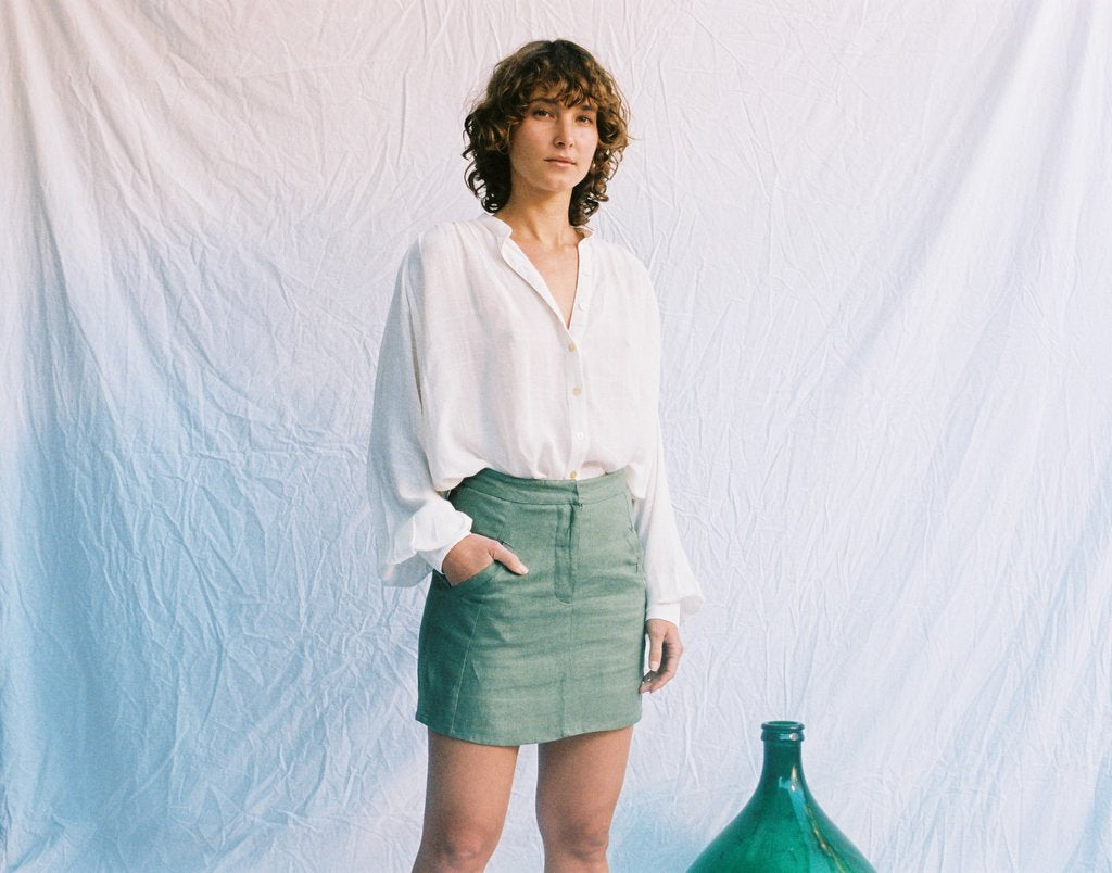 Kate Skirt - Kale