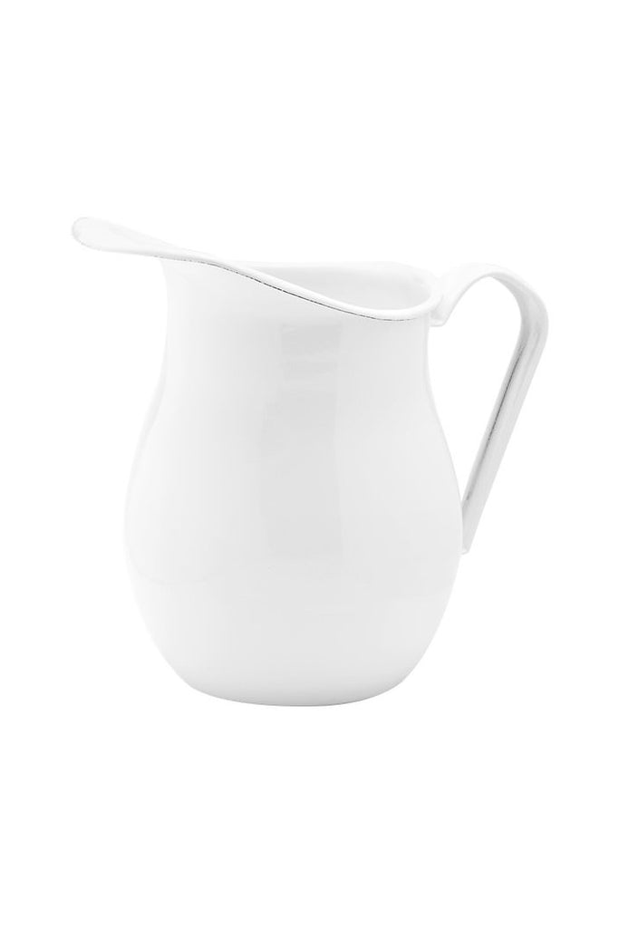 Enamel Water Pitcher - White