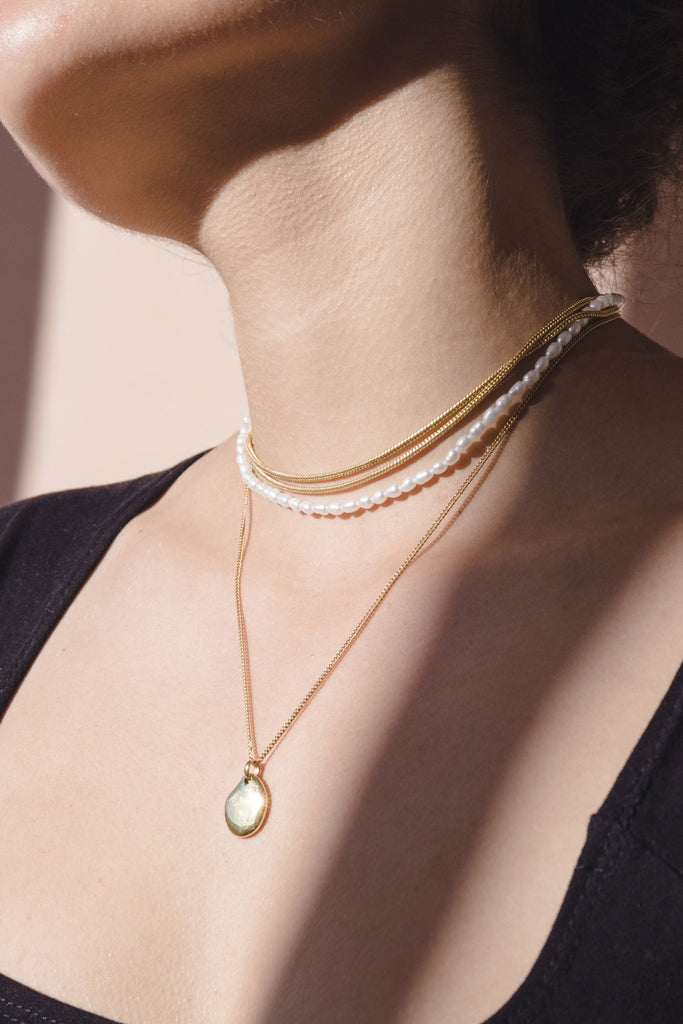 Holiday Chain - 18k Gold Plated Brass