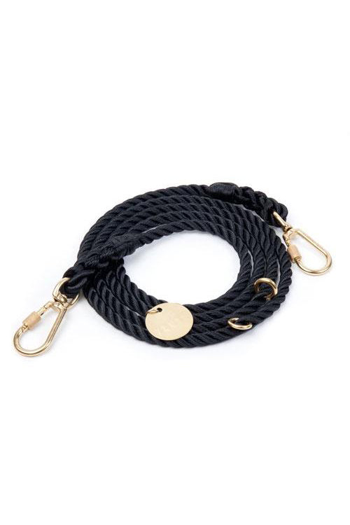 Rope Dog Leash - Black