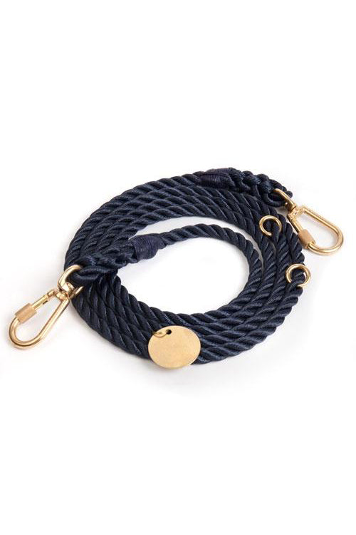 Rope Dog Leash - Navy