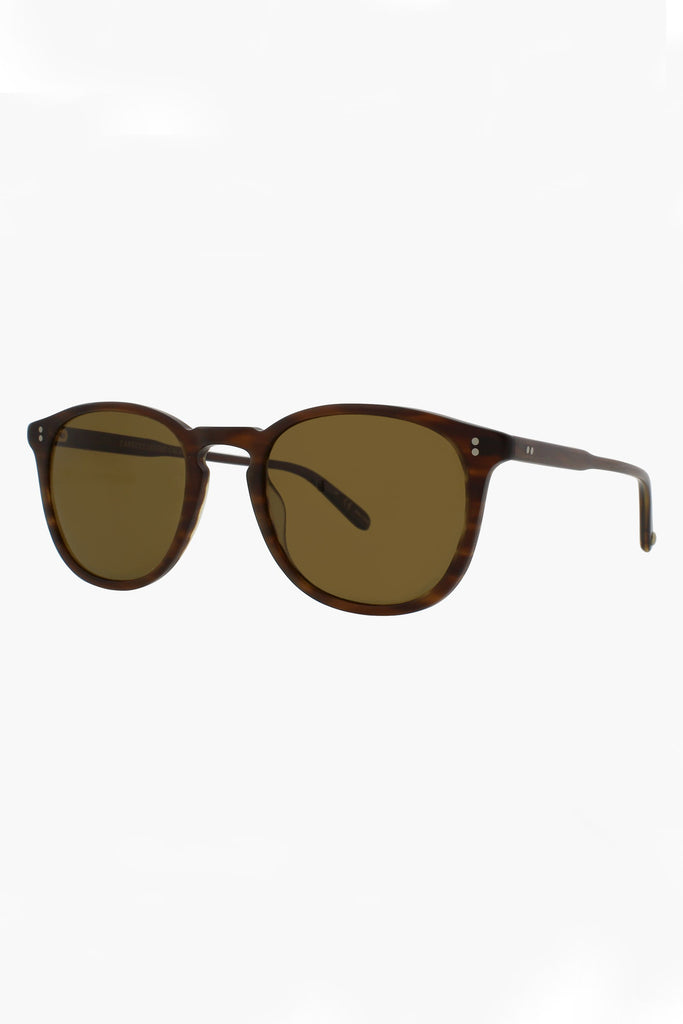 Kinney 49 Sunglasses - Matte Brandy Tortoise/Brown Polar