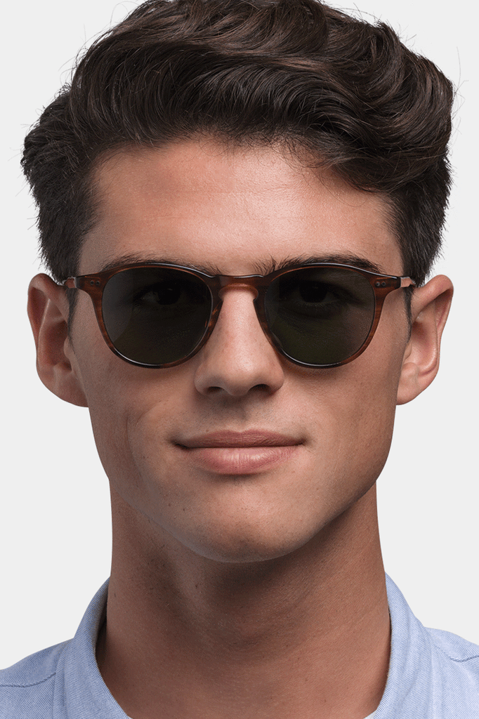 Hampton 46 Sunglasses- Basalt/ Semi- Flat Grey Black