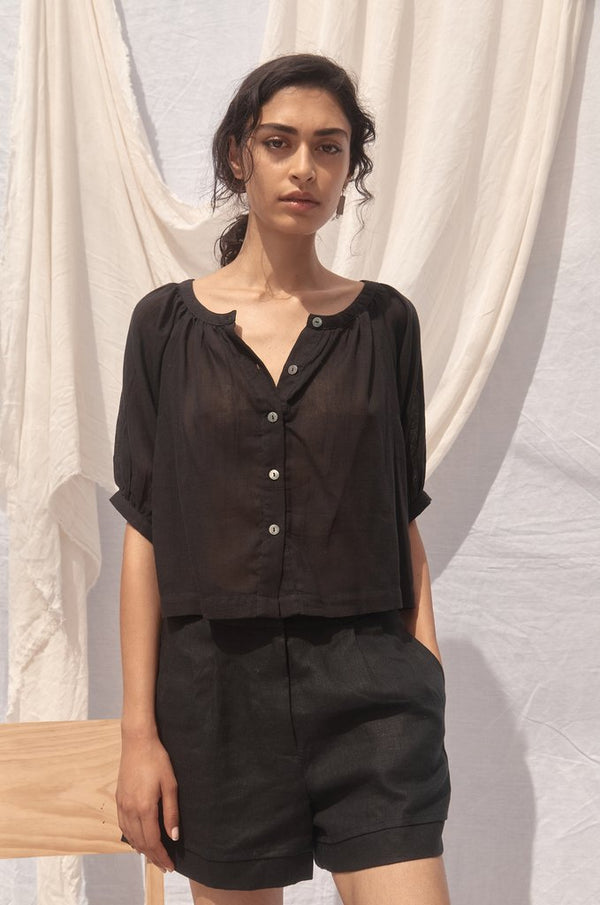 Willow Shirt - Noir