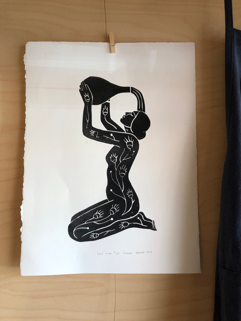 Self Love - Limited Edition Block Print